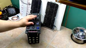 diy portable battery pack 12v 10a with solar panel and led updated