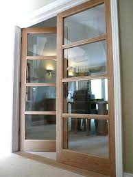 internal glass doors best internal doors with glass ideas on interior internal frameless glass sliding doors