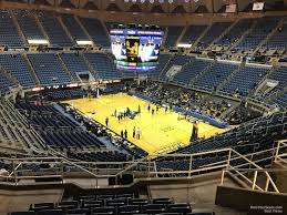 West Virginia Basketball Arena Seating Chart Wvu Coliseum Section 205 Rateyourseats Com