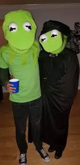 my friend s couple s costume evil kermit