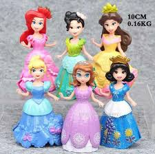 Negozio Di Sconti Onlinedisney Princess Cake Toppers Figures
