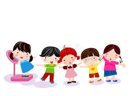 weight group group of children measuring weight stock vector illustration of