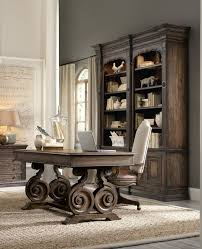 rustic office design. rustic office table also book case cabinet at traditional home design a