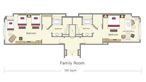 Buckeye  4 Bedroom WFamily Room Square Footage 2445 Exterior Family Room Floor Plan