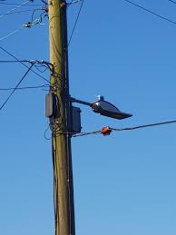 What Are The Cameras On Top Of Street Lights The Blue Thing On Top Of A Street Light Just Outside My