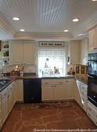 lighting for kitchens. kitchen renovation with white cabinets granite recessed lighting 06beadboard on raised for kitchens i