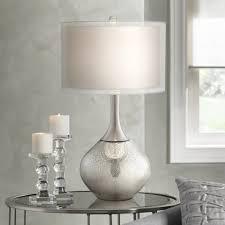 lamps mercury glass lamp base mercury glass lamp target possini euro design swift modern mercury