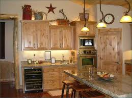 Above Kitchen Cabinets Ideas Simple Decorating Ideas