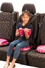 bubble backless booster car seat twin pink chevron bundle 4