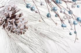 Winter Holiday Background Pine Cone And Twigs Stock Photos