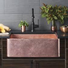 Native Trails Farmhouse 30 Kitchen Sink In Polished Copper CPK494