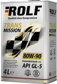 Универсальное <b>трансмиссионное масло ROLF</b> Transmission 80W ...
