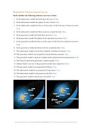 Learning Unit. The Universe and the Solar System. First Year