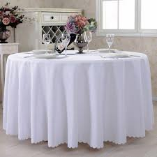 table cloth cover table cloth tablecovers round plastic lace white party weeding