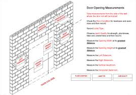 how to measure for your roll up door installation