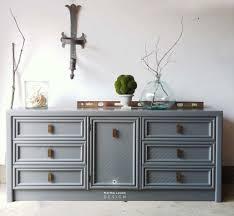 benjamin moore furniture paintDixie and Benjamin Moore Amherst Gray  Martha Leone Design