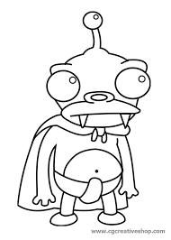 futurama coloring pages. Perfect Pages Futurama Coloring Pages Nibbler Halloween Pages Cartoon  Adult Cartoons To U