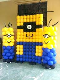 minions party decorations minion party decoration birthday background decors stage decorations banners door and entrance wreath minions party decorations