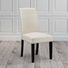 uptown club fabric wood nailhead upholstered dining room chair