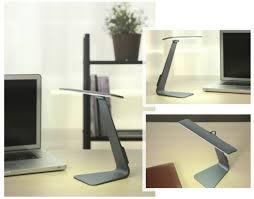 Đèn LED để bàn không dây bằng nhôm siêu mỏng, cảm ứng siêu nhạy