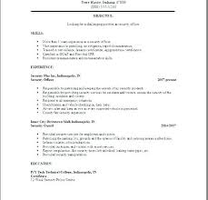 objective examples resume police officer resume objective examples