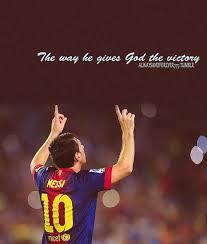 Christian Sport Quotes Best of Messi Barcelona God Soccer Image 24 On Favim