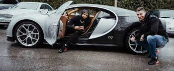 When you have a bugatti with your name added on it#bugattihi everyone,it's 7 is the number here and welcome to my channel. Odell Beckham Jr Checks Out Cristiano Ronaldo S Bugatti Chiron Autoevolution