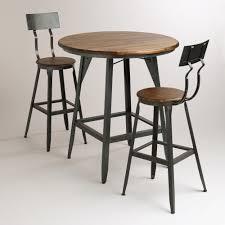 outdoor high round bar table round designs