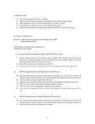 Sap Resume Sample Best Of Sample Consultant Resume Elegant Sap Pm Functional Consultant Resume