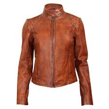 durango leather company women s belle starr studded jacket large