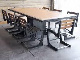 Industrial Home Decor Charming Industrial Kitchen Table In Home Decor Ideas  With Industrial Kitchen Table Regarding