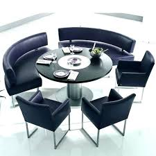 round table with bench curved bench for round dining table curved bench for round table curved