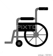 車椅子のイラスト素材 7697891 Pixta