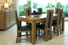 modern dining table and 6 chairs dining room table sets for 6 modern round dining table