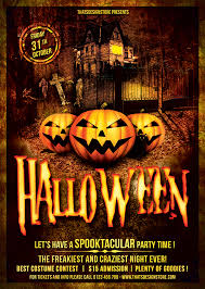halloween template flyer flyer template psd design for photoshop