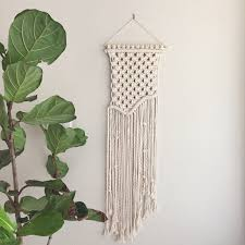Macrame Wall Hanging Macrame Kit Weave Wall Hanging Diy Including Driftwood Cotton