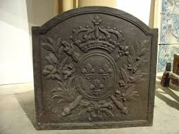 cast iron fireback. Cast Iron Fire Back Small Antique French Fireback From The 1800s At 1stdibs