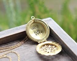 mrs necklace mrs locket personalized locket personalized necklace bridal shower gift new bride gift honeymoon necklace