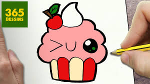 Comment Dessiner Cupcake Kawaii Tape Par Tape Dessins Kawaii Comment Dessiner Une Licorne Facilement Youtube Dessinerl L