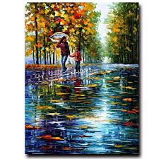 china factory direct whole 100 handmade palette knife modern oil painting on canvas china oil painting 100 handmade