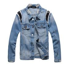 mens denim jacket personality new arrival leather jacket blue denim jacket male jackets slim coat m 3xl men coat mens leather er jacket from tt boy