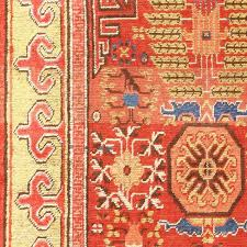 antique khotan rugs antique rugs from the city of khotan have a style that is