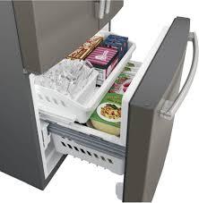 Ge Appliance Repair Kansas City Ge Gne25jmkes 33 Inch French Door Refrigerator With Internal Water