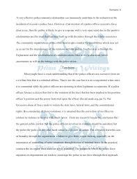 police brutality essay co police brutality essay