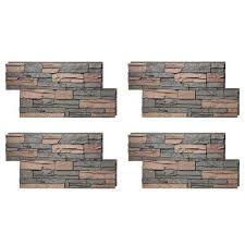 faux stone siding outdoor. stacked stone 24 in. x 42 stratford faux siding outdoor r