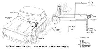 ford truck technical drawings and schematics section h wiring 1967 f 100 thru f 350 windshield wiper and washer