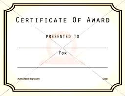 Printable Awards And Certificates 27 Images Of Free Printable Award Certificate Template Leseriail Com