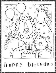 black and white printable birthday cards birthday cards ideas drawing at getdrawings com free for personal