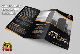 Design A Professional Bifold Or Trifold Brochure Design
