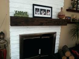 awesome rustic fireplace mantel or photo 4 of 6 rustic fireplace mantel shelf fireplace mantle shelf 4 46 wood fireplace mantels diy